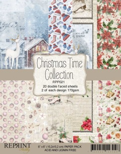 Reprint - Christmas Time Collection Pack - Pappersblock - Reprint - Christmas Time Collection Pack - Pappersblock