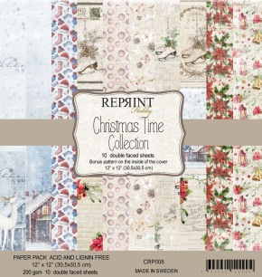 Reprint - Christmas Time Collection Pack 12 x12