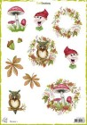 CraftEmotions - Decoupage sheets - Bernie 1