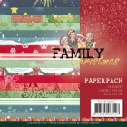 Yvonne Creations Pappersblock - Family Christmas