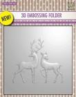 Nellie Snellen - Embossingfolder - Reindeer