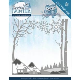 Yvonne Creations Dies - Winter Landscape - Yvonne Creations Dies - Winter Landscape