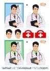 Barto Design - 3D Klippark - Läkare