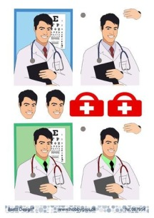 Barto Design - 3D Klippark - Läkare - Barto Design - 3D Klippark - Läkare