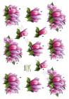 Dan Design- 3D Klippark - Blommor