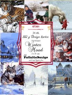 Felicita Design Toppers - Winter Mood - Felicita Design Toppers - Winter Mood