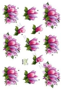 Dan Design- 3D Klippark - Blommor - Dan Design- 3D Klippark - Blommor