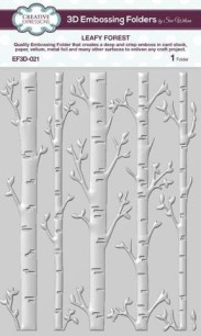 Creative Expressions - 3D Embossingfolder - Leafy Forest - Creative Expressions - 3D Embossingfolder - Leafy Forest