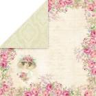 Craft & You - Dubbelsidigt papper - Bellissima Rosa 04