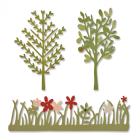 Sizzix - Dies - Green Garden