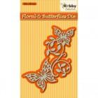 Nellie Snellen - Dies - Floral & Butterflies