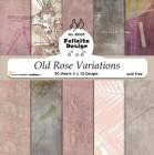 Felicita Design - Pappersblock - Old Rose Variations