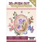 Cardbook - 3D utstansat - Butterflies and Flowers no 13