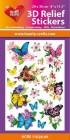 3D Relief Stickers - Butterflies