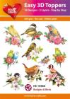 Easy 3D Utstansat - Budgies & Birds