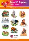 Easy 3D Utstansat - Horses