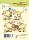 Leane Creative - Clearstamps - Sheep