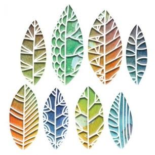 Sizzix Dies - Cut of Leaves - Sizzix Dies - Cut of Leaves