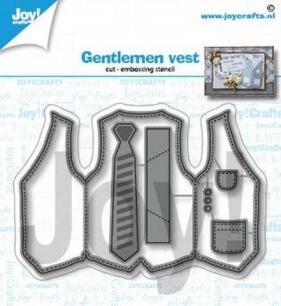 Joy Crafts Dies - Gentlemen Vest - Joy Crafts Dies - Gentlemen Vest