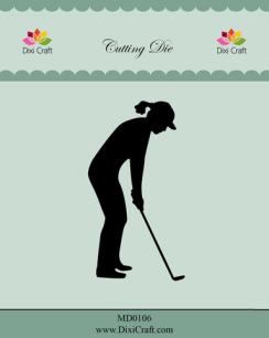 Dixi Craft - Dies - Female Golf Player - Dixi Craft - Dies - Female Golf Player