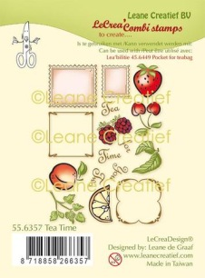 Leane Creative - Clearstamps - Tea Time - Leane Creative - Clearstamps - Tea Time