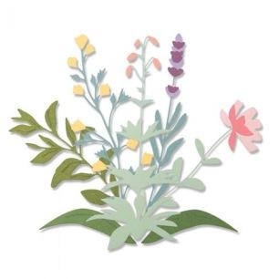 Sizzix Thinliths Dies - Spring Stems - Sizzix Thinliths Dies - Spring Stems