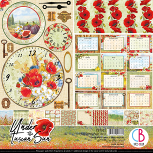 Ciao Bella - Patterns Paper Pad - Under the Tuscan Sun - Ciao Bella - Patterns Paper Pad - Under the Tuscan Sun