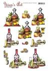 Yvon´s Art Factory - 3D Klippark - Teguila & Vodka