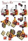 Yvon´s Art Factory - 3D Klippark - Cognac & Whiskey