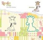 Nellie Snellen - Dies & Clearstamp - DADA - Cute Giraffe