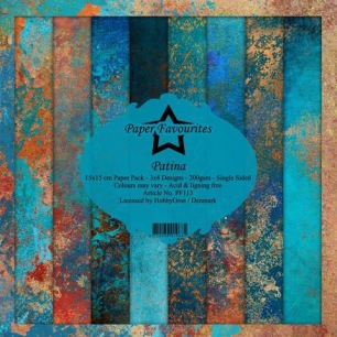 Pappersblock - Paper Favourites - Patina - Pappersblock - Paper Favourites - Patina