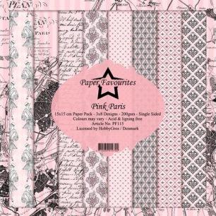 Pappersblock - Paper Favourites - Pink Paris - Pappersblock - Paper Favourites - Pink Paris