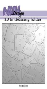 NHH Design - 3D Embossingfolder - Cards - NHH Design - 3D Embossingfolder - Cards