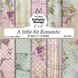Felicita Design - Pappersblock - A little bit Romantic - Felicita Design - Pappersblock - A little bit Romantic
