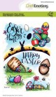CraftEmotions - Clearstamps - Easter 1