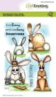 CraftEmotions - Clearstamps - Bunny 1
