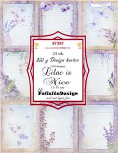 Felicita Design - Toppers - Lilac is Nice - Felicita Design - Toppers - Lilac is Nice