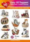 Easy 3D Utstansat - Cats