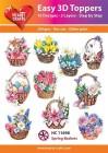 Easy 3D Utstansat - Spring Baskets