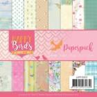 Jeanine´s Art Pappersblock - Happy Birds