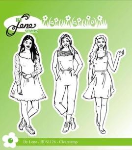 by Lene - Clerstamp - Girls - by Lene - Clerstamp - Girls