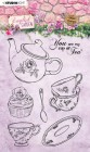 Studiolight - Clearstamps - English Garden - Cup of Tea
