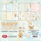 Craft & You - Pappersblock - Baby Adventure