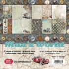 Craft & You - Dubbelsidiga Papper - Man's World