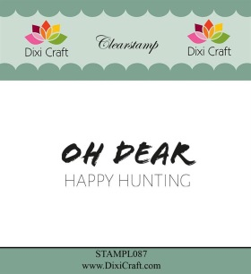 Dixi Crafts - Clearstamps - English tekst - Dixi Crafts - Clearstamps - English tekst