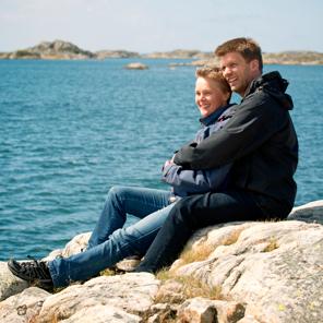 Parkurs för dig och din partner tillsammans med andra par med cancer på vackra Brännö i Göteborgs skärgård