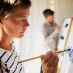 Spontant målande