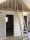Loft med sovrum och badrum under
