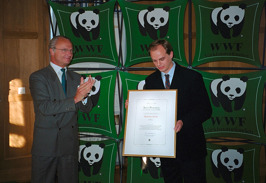 2000: My first book was chosen as The Panda Book of the Year for Children and Young People by the Swedish section of World Wide Fund for Nature (WWF), the prize being presented by King Carl XVI Gustaf.
