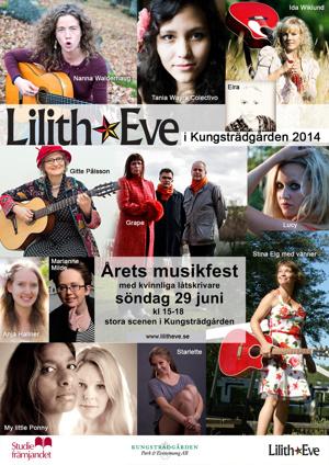 Lilith Eve i Kungsträdgården 2014